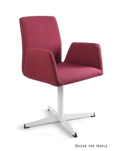 Brava - fotel biurowy - czerwony