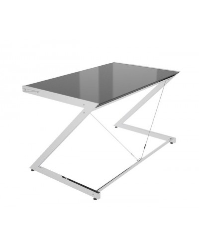 Z-Line - Chrom - Computer Desk Black