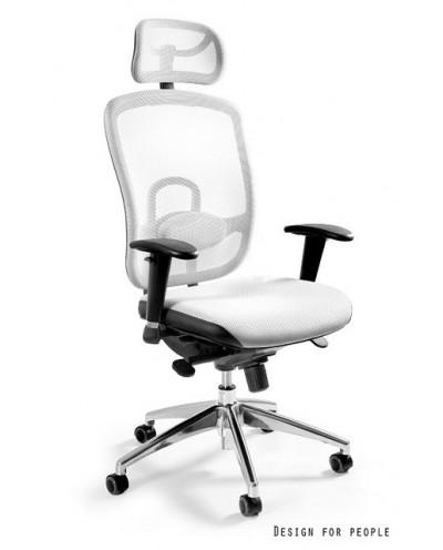 Vip - krzesło biurowe - białe