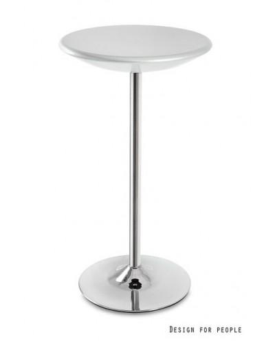 Round - stolik srebrny