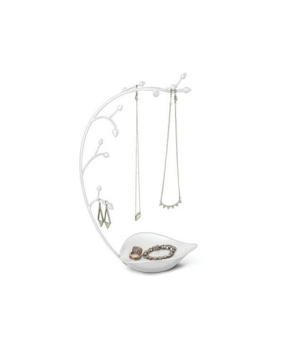 Organizer na biżuterię Orchid biały