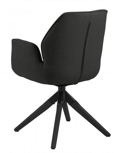 Krzesło obrotowe Aura dark grey /black auto return