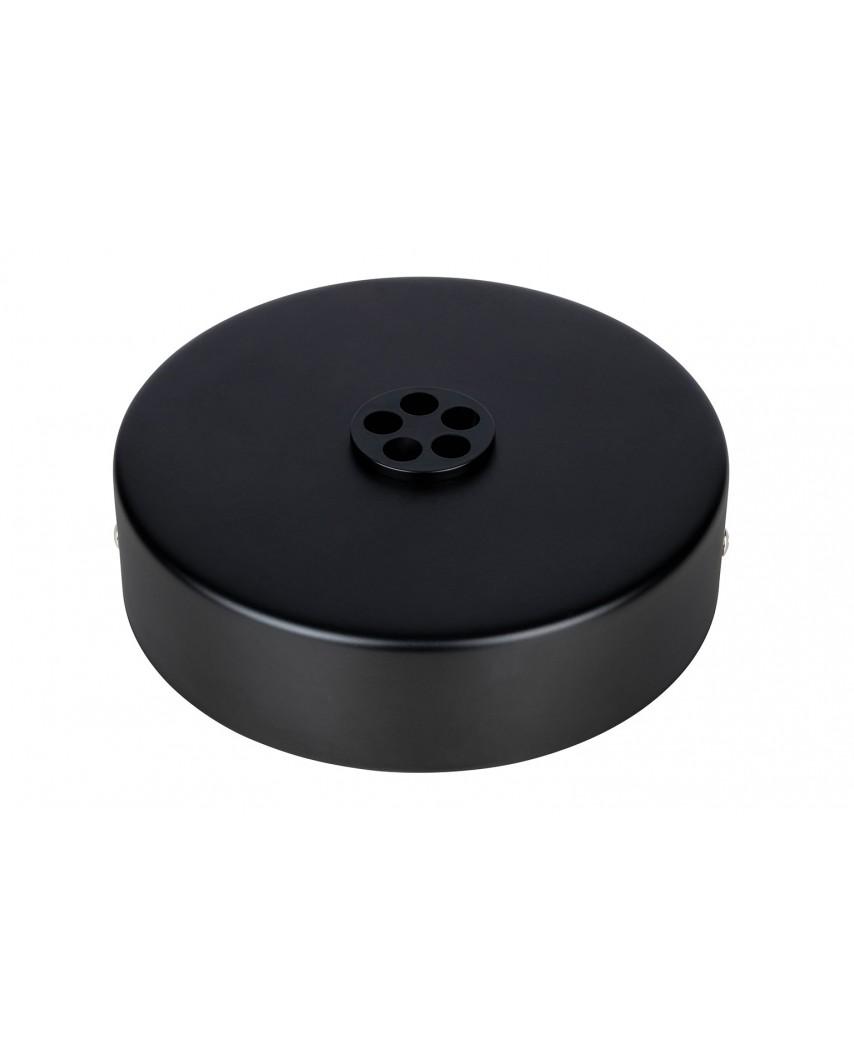 Podsufitka do lampy FI 15cm czarna 5 - metal