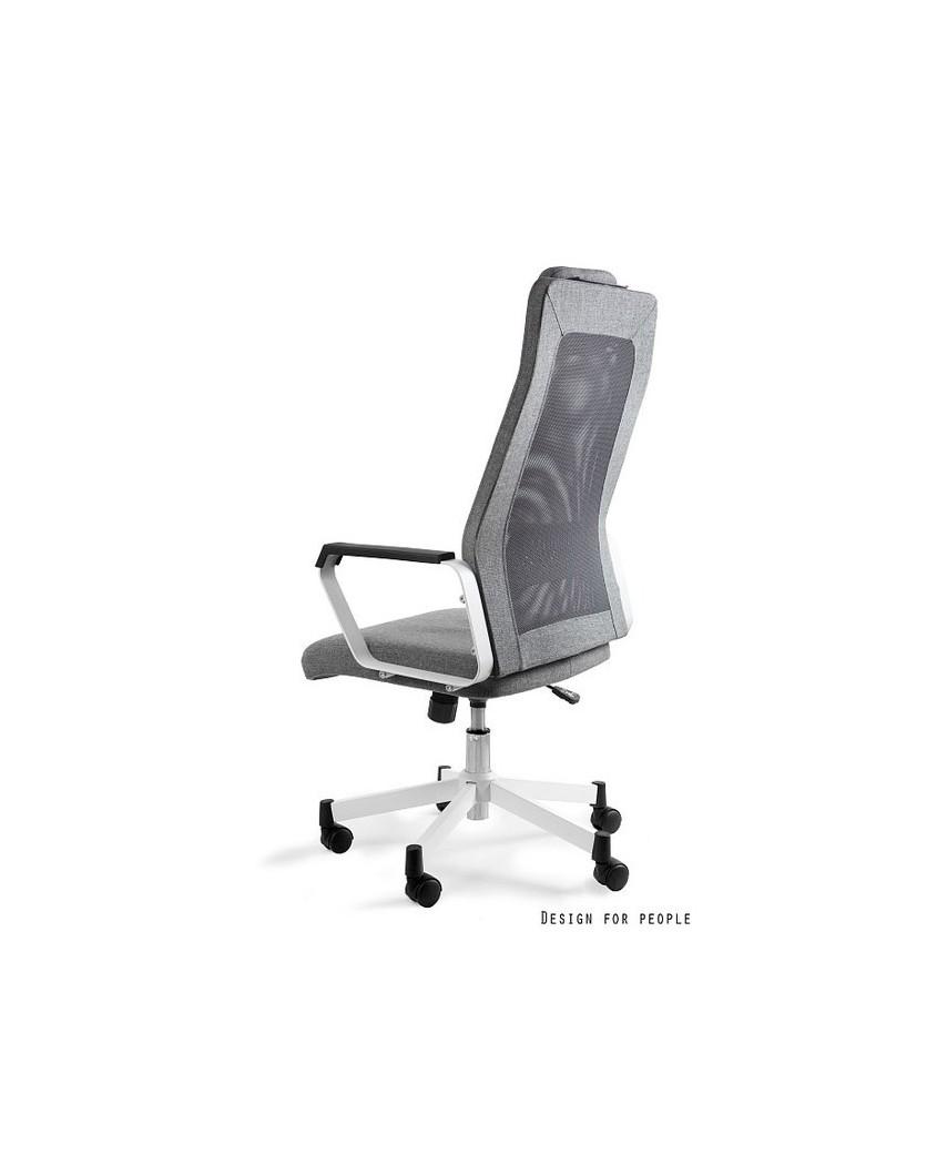Fox - fotel biurowy - szary