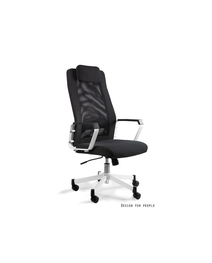 Fox - fotel biurowy - czarny