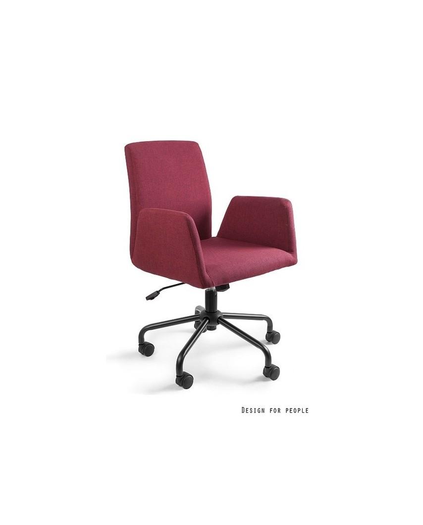 Bravo - fotel biurowy - czerwony