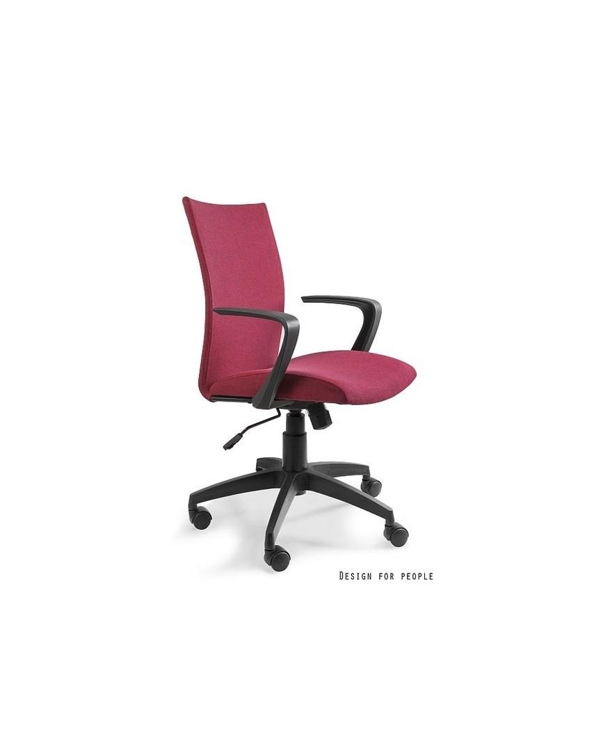 Millo - fotel biurowy - czerwony