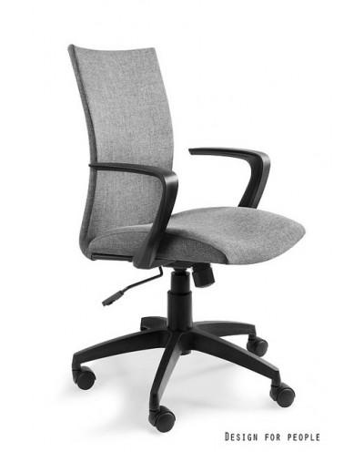 Millo - fotel biurowy - szary