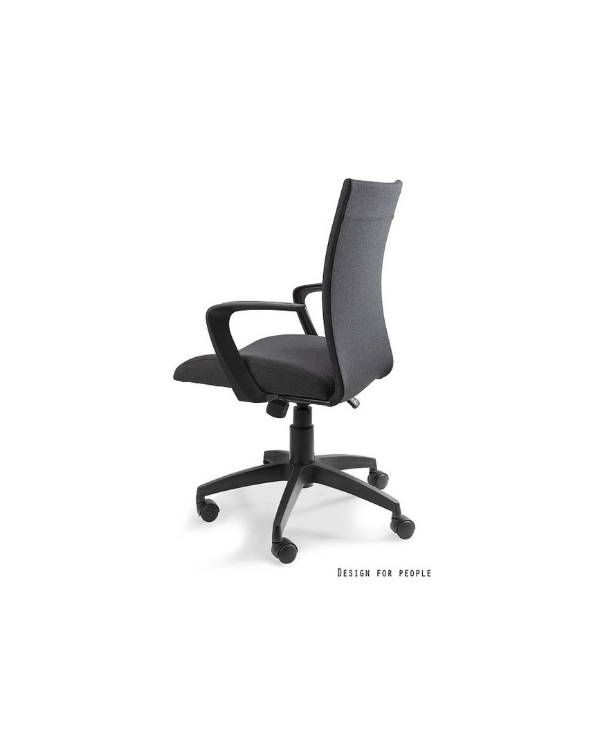 Millo - fotel biurowy - czarny