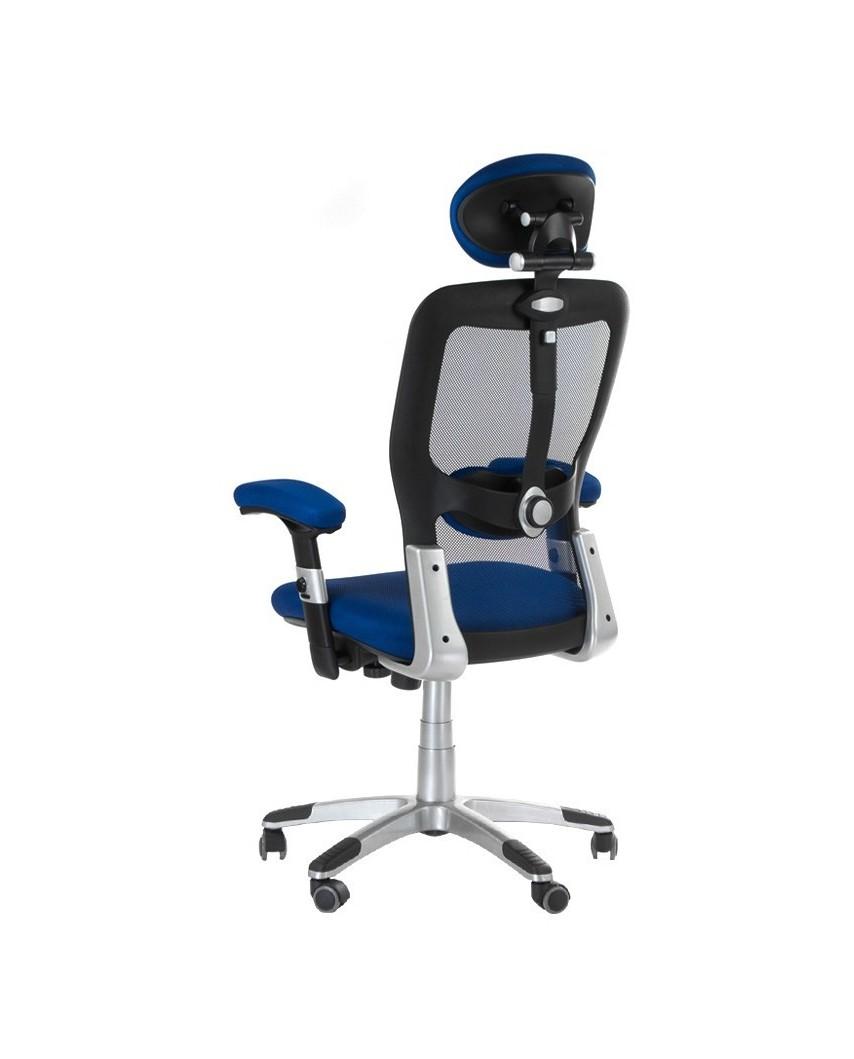 Fotel ergonomiczny CorpoComfort BX-4147 Niebieski