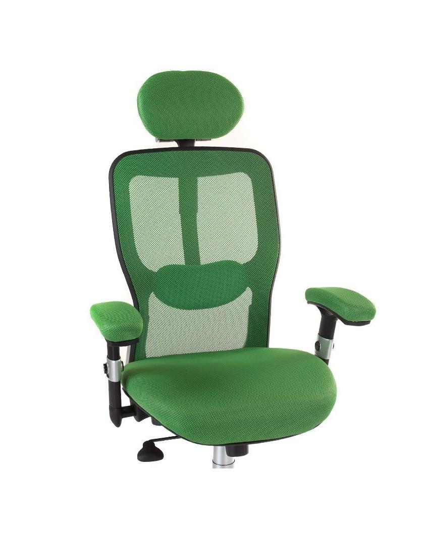 Fotel ergonomiczny CorpoComfort BX-4147 Zielony