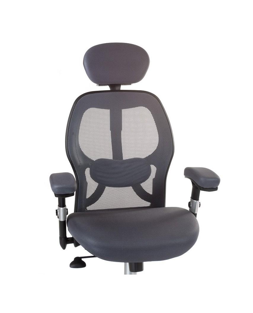 Fotel ergonomiczny CorpoComfort BX-4144 Szary