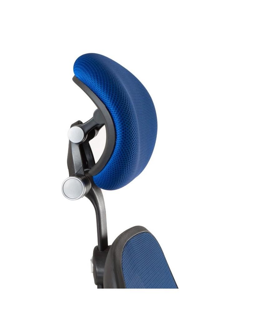 Fotel ergonomiczny CorpoComfort BX-4144 Niebieski