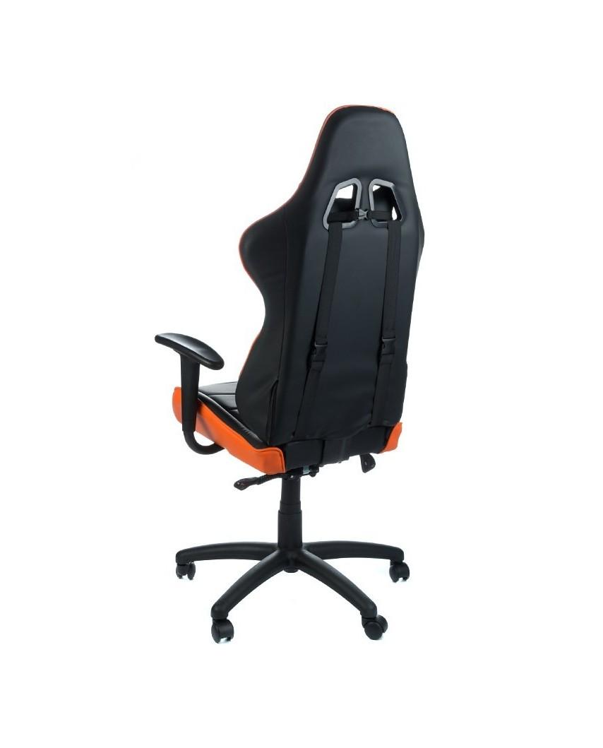 Fotel biurowy RACER CorpoComfort BX-3700 Pomarańcz