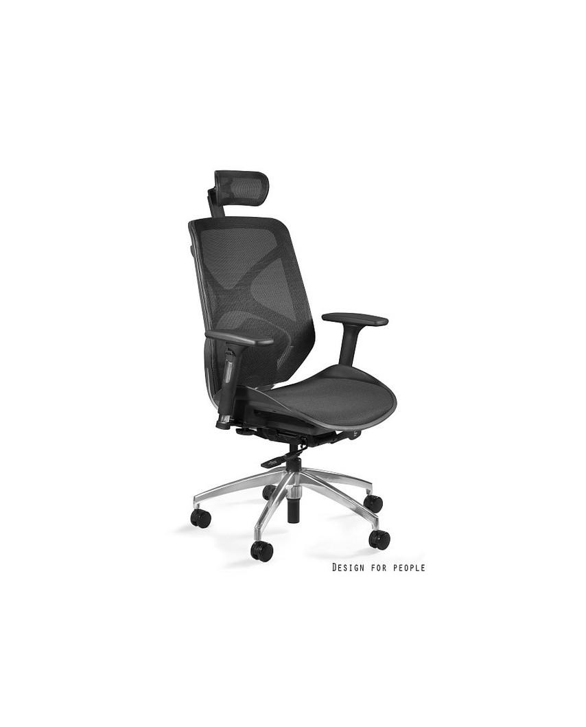 HERO - Fotel biurowy czarny siatka