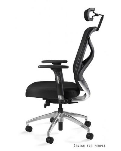 HERO - Fotel biurowy czarny tkanina