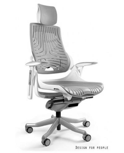 WAU ELASTOMER - Fotel biurowy biały