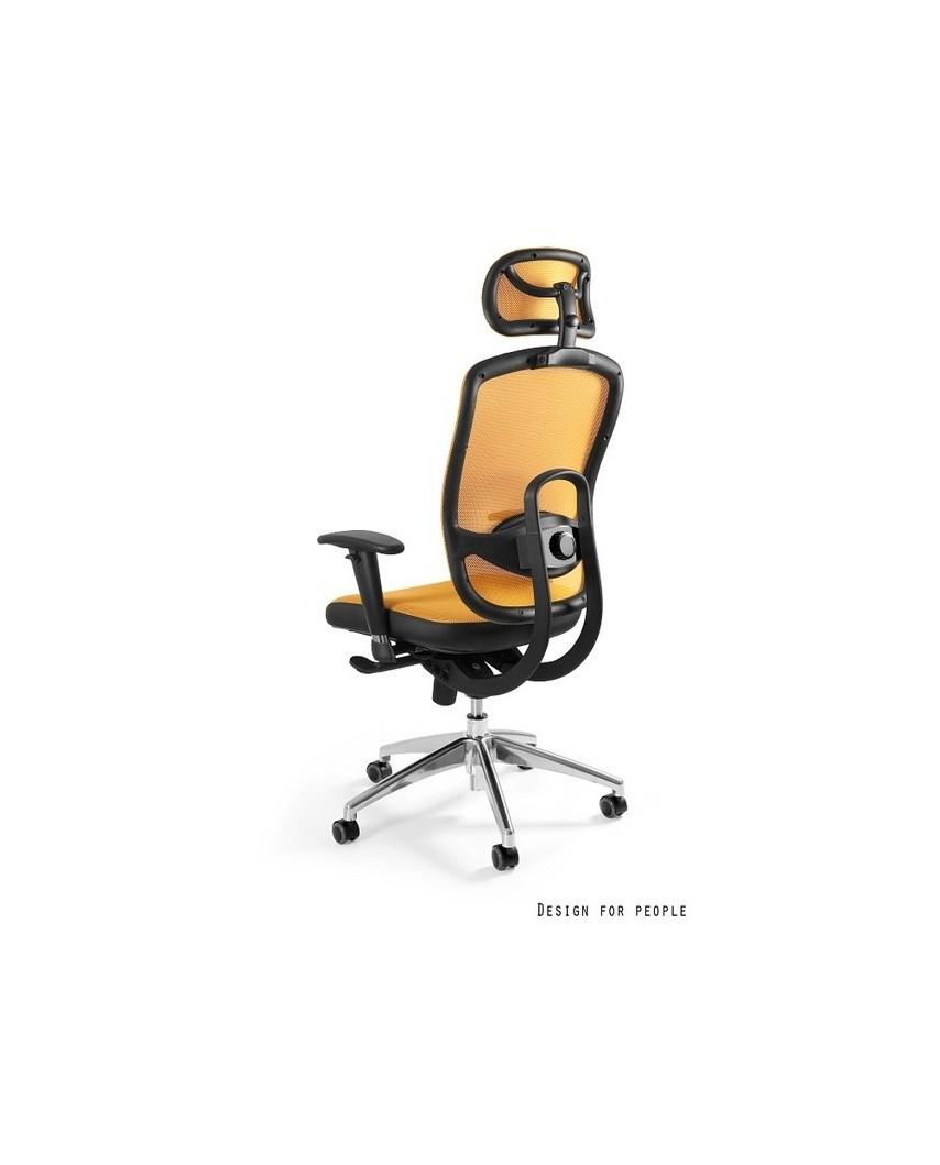 Vip - krzesło biurowe - żółte