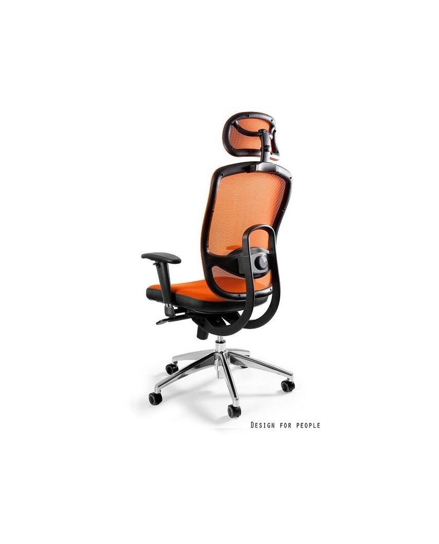 Vip - krzesło biurowe - pomarańczowe