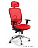 Vip - krzesło biurowe - czerwone