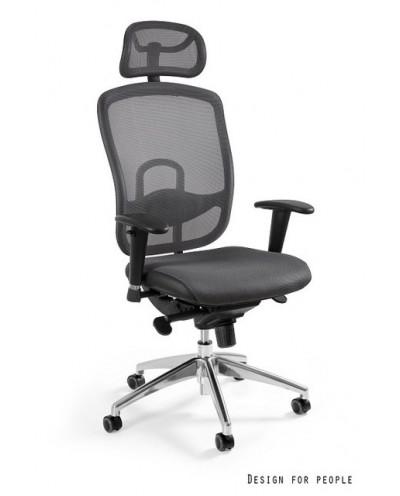 Vip - krzesło biurowe - szare