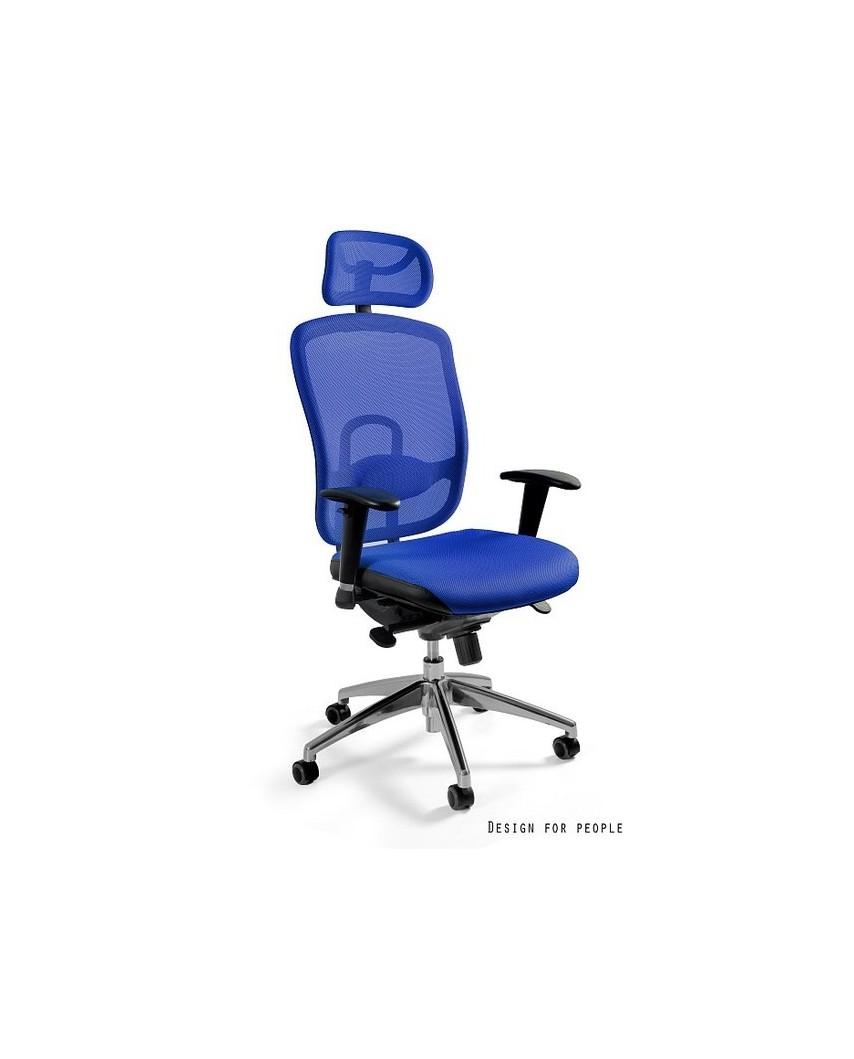 Vip - krzesło biurowe - niebieskie
