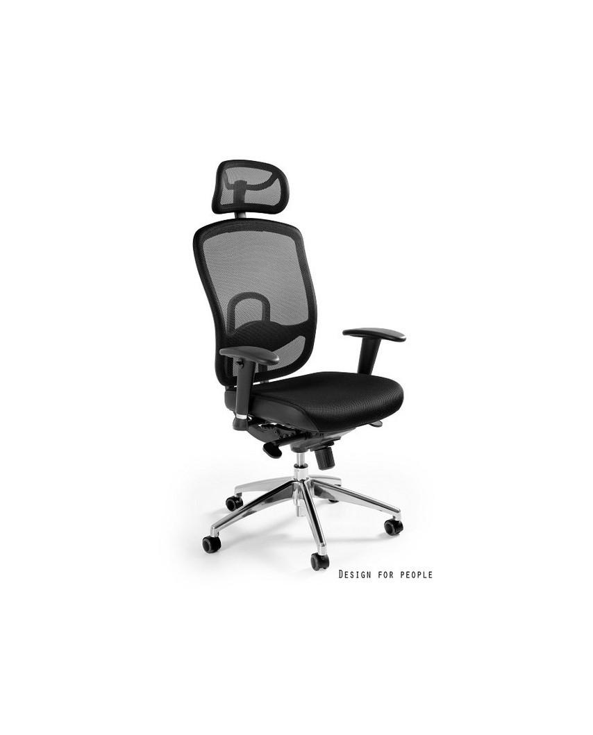 Vip - krzesło biurowe - czarne