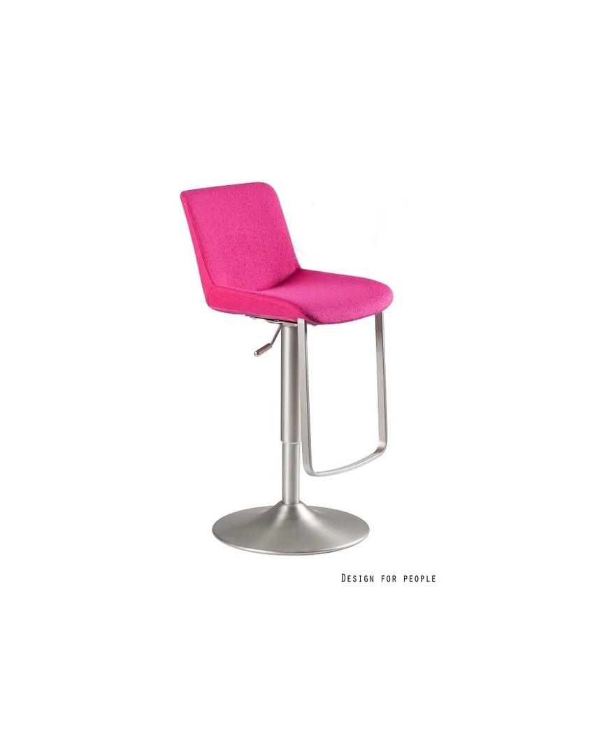 SAVIO - Krzesło barowe różowe