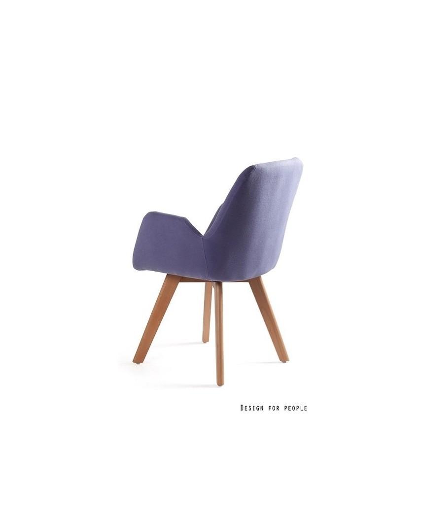 Line - fotel niebieski