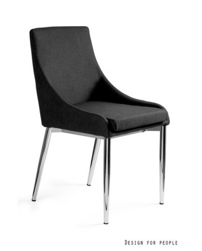 Sultan - fotel czarny