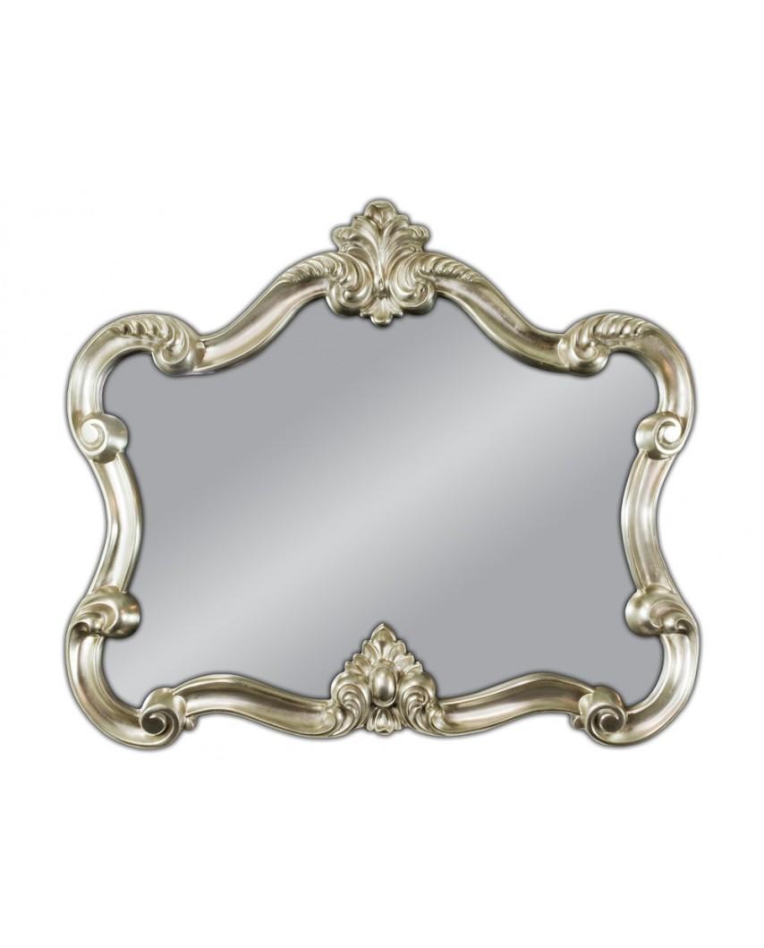 Lustro wiszące Venice 92x109 srebrny