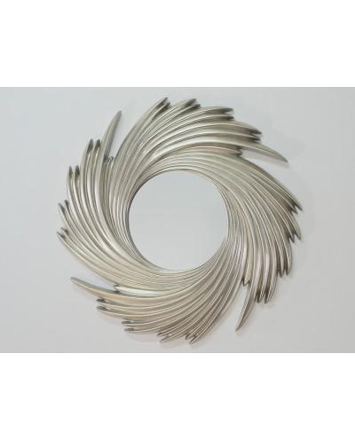 Lustro wiszące Wickers 95x95 srebrny