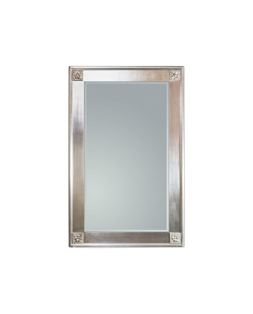 Lustro wiszące Wiktoria 90x150 srebrny