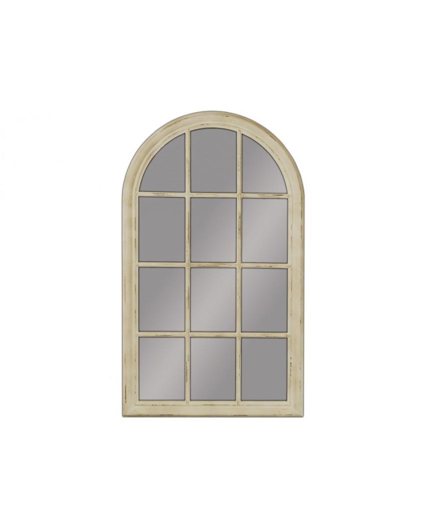 Lustro wiszące Window 80x136 kremowy
