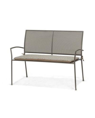 Ławka 2-osobowa z poduszką z nadrukiem Plantagoo