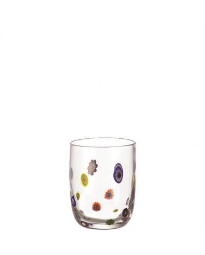 Mała szklanka Millefiori
