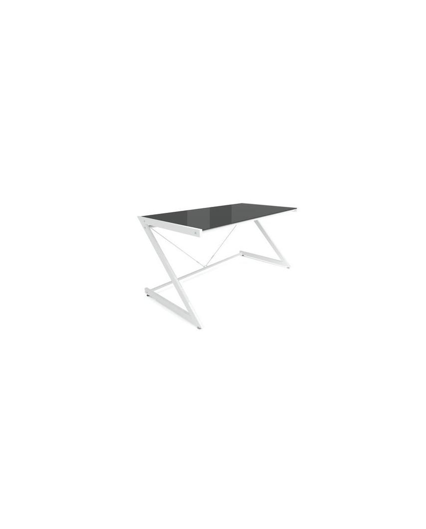 DD Z-Line Main Desk White/Black - biurko