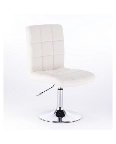 Kris - krzesło kosmetyczne białe