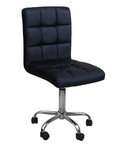 Kris- krzesło kosmetyczne czarne