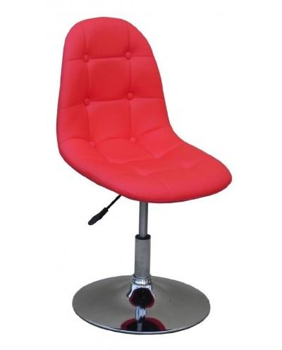 Pak - Krzesło kosmetyczne czerwone