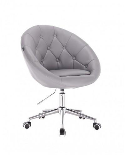 Bol - krzesło kosmetyczne szare