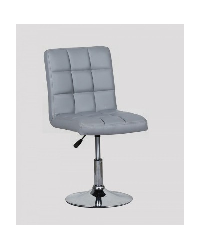Kris - krzesło kosmetyczne szare
