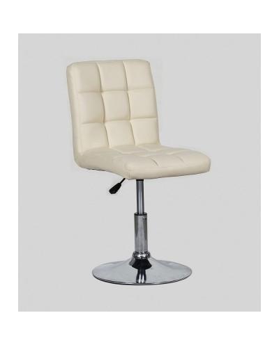 Kris - krzesło kosmetyczne kremowe