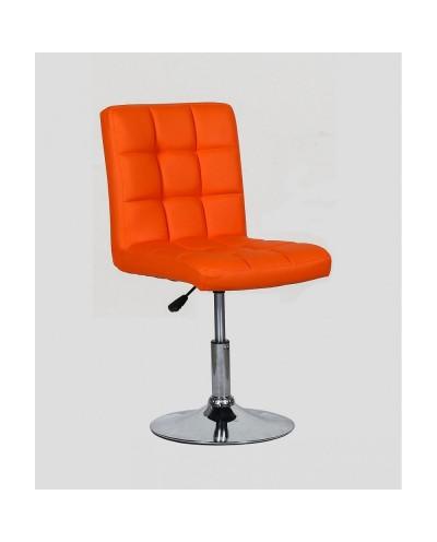 Kris - krzesło kosmetyczne pomarańczowe
