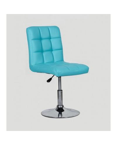 Kris - krzesło kosmetyczne turkusowe