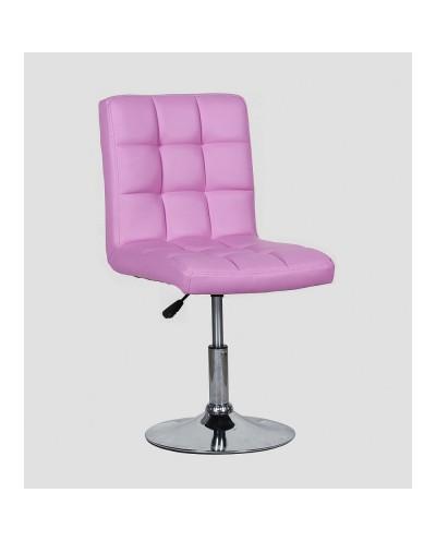Kris - krzesło kosmetyczne lawendowe