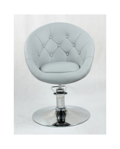 BOL LUX - Fotel fryzjerski szary hydrauliczny