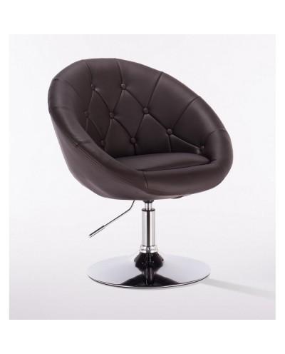 Bol - krzesło kosmetyczne czekoladowe