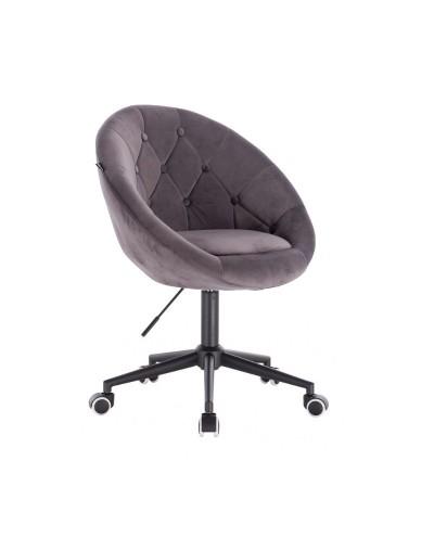 BLOM Szare krzesło obrotowe - kółka czarne