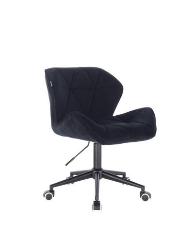 Krzesło obrotowe PETYR czarne - kółka